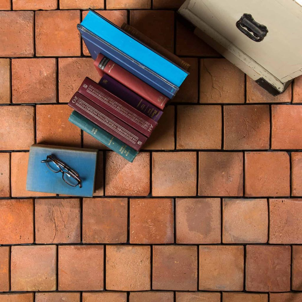 how to clean terracotta tiles